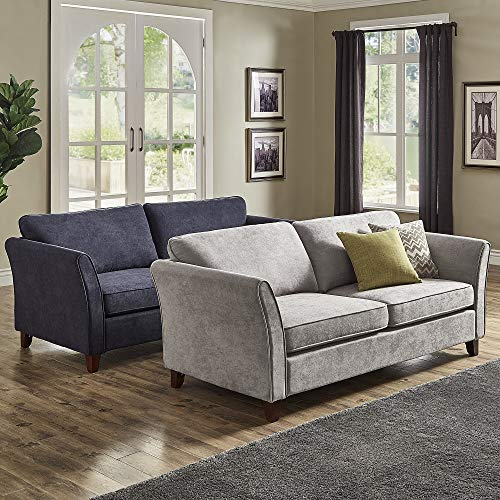 Terrific Amazon Com Inspire Q Gia Low Profile Sofa By Classic Grey Short Links Chair Design For Home Short Linksinfo