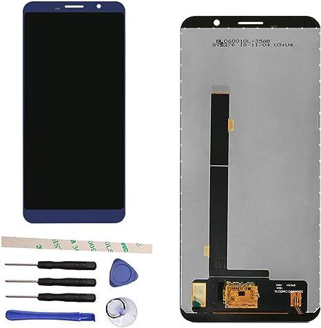 Draxlgon Pantalla LCD Táctil Asamblea digitalizador para Cubot Power Azul: Amazon.es: Electrónica