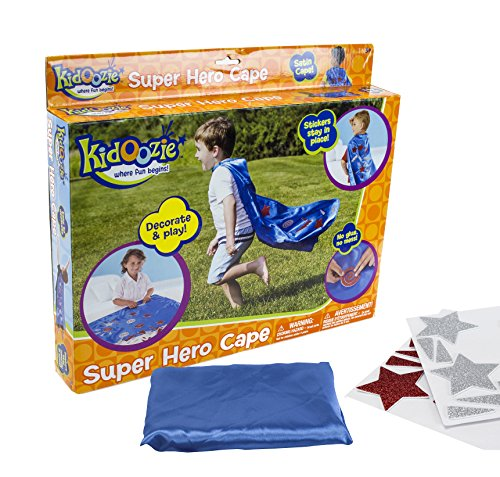 Superhero Own Costume Your Easy Make (Kidoozie Super Hero Cape – Decorate and)