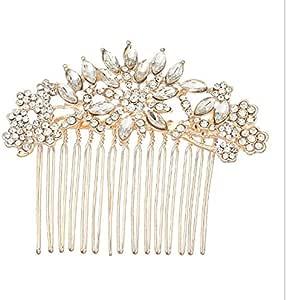 مشط الشعر الزفاف الزهور على الطريقة الكورية شكل دقيق اكسسوارات الشعر