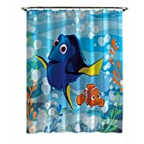 Disney Finding Dory Lagoon Shower Curtain, 70'' x 72''