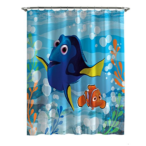 - Disney Finding Dory Lagoon Shower Curtain, 70