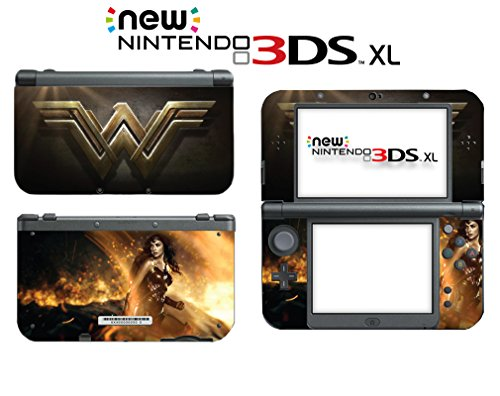 Wonder Woman Wonderwoman Superhero Diana Video Game Vinyl Decal Skin Sticker Cover for the New Nintendo 3DS XL LL 2015 System Console