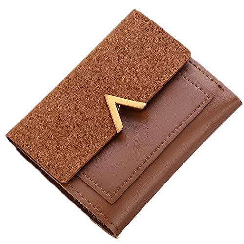 Aelove Women Fashion V Shape Wallet Letter Card Holder Purse Clutch Bag