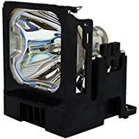 AuraBeam Professional Replacement Projector Lamp for Mitsubishi VLT-XL5950LP With Housing (Powered by Phoenix)