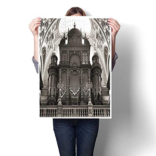 Canvas Print Wall Art Pipe Organ of st Stephen s Basilica Budapest Hungary Canvas,20
