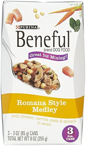 Beneful Romana Style Medley Dog Food With Chicken 8-Pack 24 3-Oz.Cans