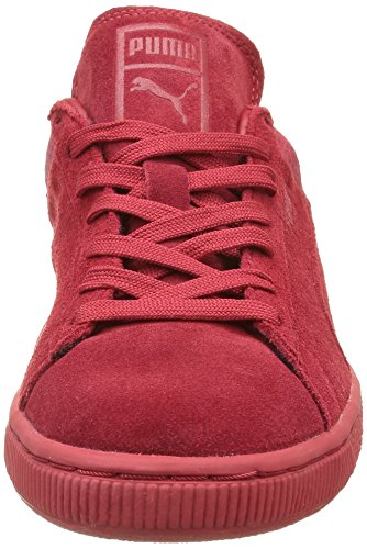 Puma Suede Classic Casual Emboss, Unisex Adults' Low-Top Trainers Barbados Cherry