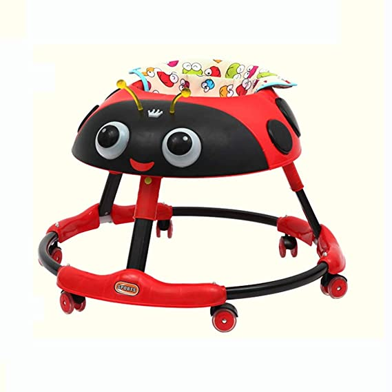 Amazon.com : Moolo Baby Walker, Anti-Rollover Anti-O-Leg ...