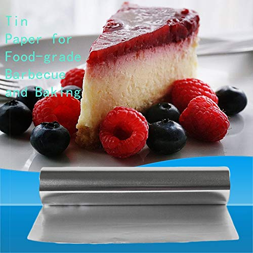 HoganeyVan 10M Tin Foil Kitchen Barbecue Foil Paper BBQ Baking Tool Supply Gadget Useful Food-grade Barbecue Tin Foil