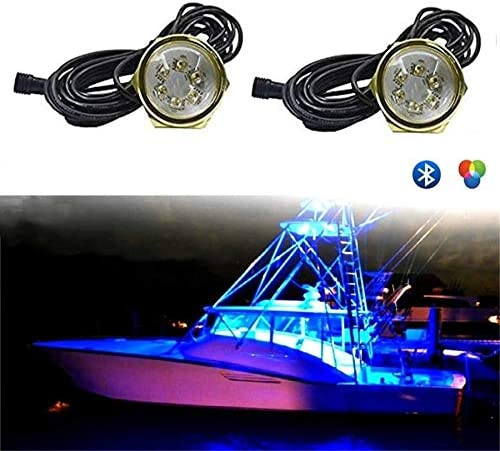 Underwater Led Boat /& Yacht Led Light RGB Color 27W 9-30V DC