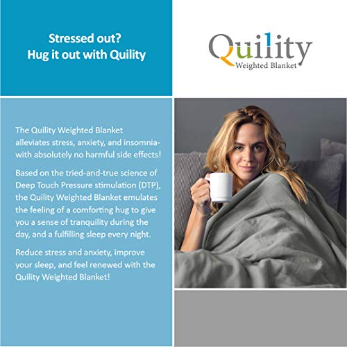 Quility Premium Adult Weighted Weighted Blankets