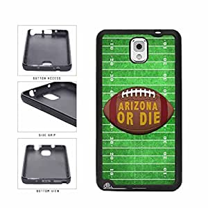 Arizona or Die Football Field TPU RUBBER SILICONE Phone Case Back Cover Samsung Galaxy Note III 3 N9002