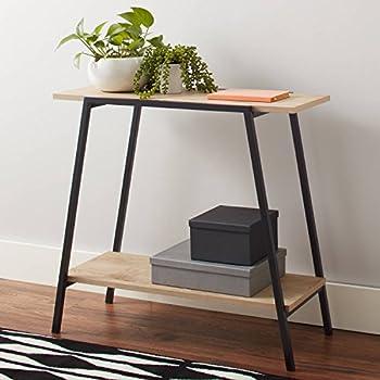 Wondrous Amazon Com Mainstays Conrad Console Table Black Kitchen Creativecarmelina Interior Chair Design Creativecarmelinacom