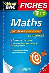 Objectif Bac Fiches Détachables Maths Term St2S