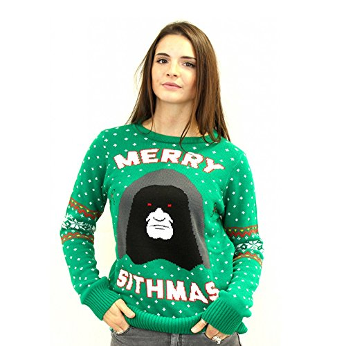 Official Merry Sithmas Star Wars Christmas Jumper Ugly Sweater