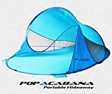 Cheap Pop up portable cabana tent indoor outdoor lightweight family instant sun shelter hideaway popacabana