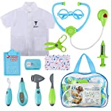 Glonova Kids Doctor Kit 12 Pcs Role Pretend Play Set Clothes and Accessories
