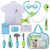 Glonova Kids Doctor Kit 12 Pcs Role Pretend Play Set Clothes Accessories