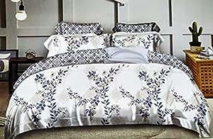 King Size, Cotton,Multi Pattern, Multi Color - Bedding Sets