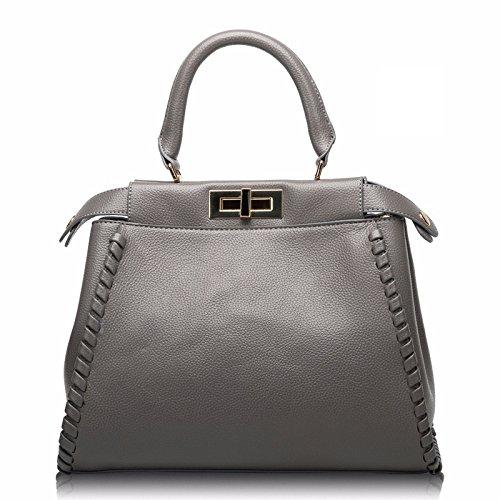 Vintage Main Bag Sac À Lady Messenger Mode Gray Casual Bandoulière fY46xw