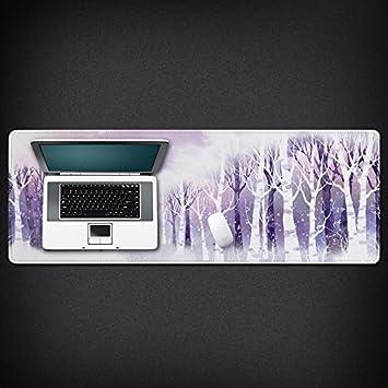 Ordenador portátil de tamaño personalizado desk Candado creative edge cuatro cuartos de las grandes artes gaming mouse pad, el rocío frío: Amazon.es: ...