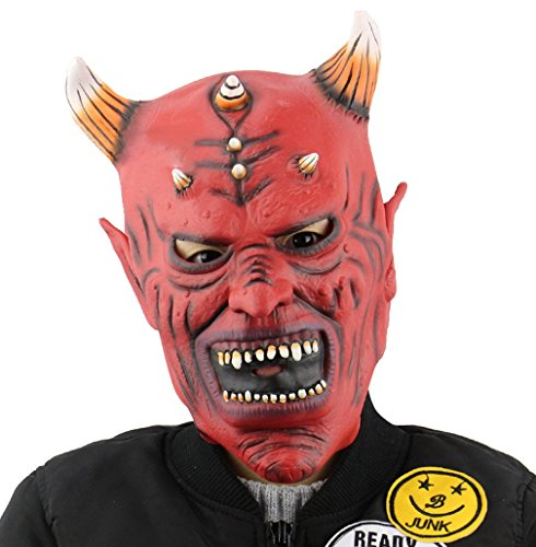 Gameyly Halloween Costume Accessory Devil Monster Mask Mask-E (Halloween Maske)