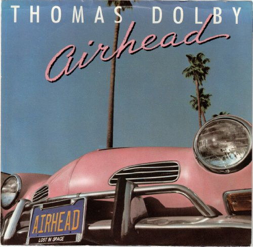DOLBY, Thomas / Airhead / 45rpm PROMO record + picture sleeve