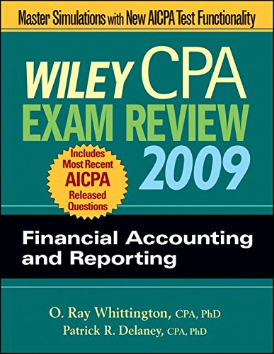 Wiley CPA Exam Review 2009: Financial Accounting and Reporting (Wiley CPA Examination Review: Financial Accounting &
