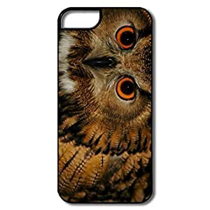 Case For Iphone 4/4S Cover Case, Wise Old Owl White/black Cases Case For Iphone 4/4S Cover