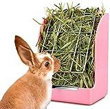 Rabbit Feeder Bunny Guinea Pig Hay Feeder,Hay