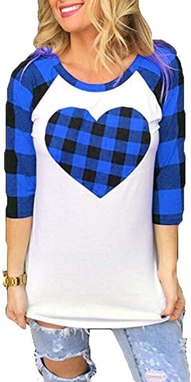 Camisa A Cuadros De Mujer Camisas A Manga Cuadros Bastante De Camisa Larga con Estampado De