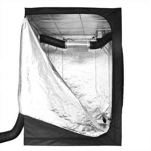 "51q6zLgVAwL - Hydroponics Reflective Mylar Grow Tent 60""x60""x78"""