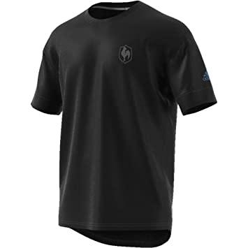 outlet store 9c6b5 15578 adidas BR3252 T-Shirt Homme, NoirBlancCorblu, FR (Taille