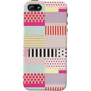 DailyObjects Decorative Tape Case For iPhone 5/5S