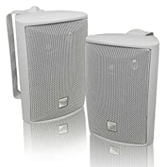 The DUAL outdoor speaker series is designed as a multipurpose speaker and will deliver accurate high fidelity sound in exterior or interior environments. Weather-resistant design and construction provide optimum durability for permanent or te...