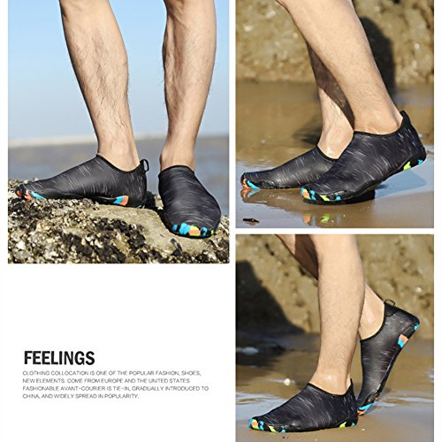 Herren Schlüpfen Saguaro Slip On Badeschuhe Strand Trocknend Grau Damen Schwimmen Mesh Schnell Aquaschuhe Wasserschuhe Für Sommer tqq6HzR4