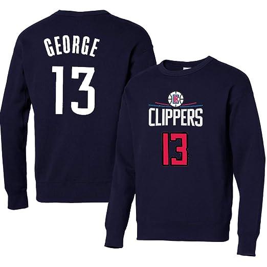 CCKWX Baloncesto Masculino con Capucha Clippers # 13 George ...