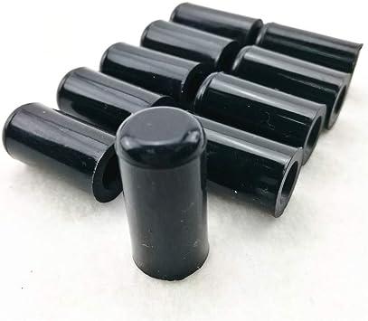 Blanking Caps Masking Caps Tubing Caps Black 8mm Silicone Vacuum Caps