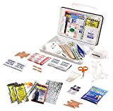 Rapid Care First Aid 80074 Emergency Survival First Aid Kit, Wall Mountable, 183 Pieces