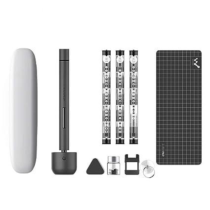 Wowstick 1F Pro Upgrade destornillador eléctrico portátil 64 en 1 bits juego de destornillador sin cable recargable para teléfono celular cámara ...