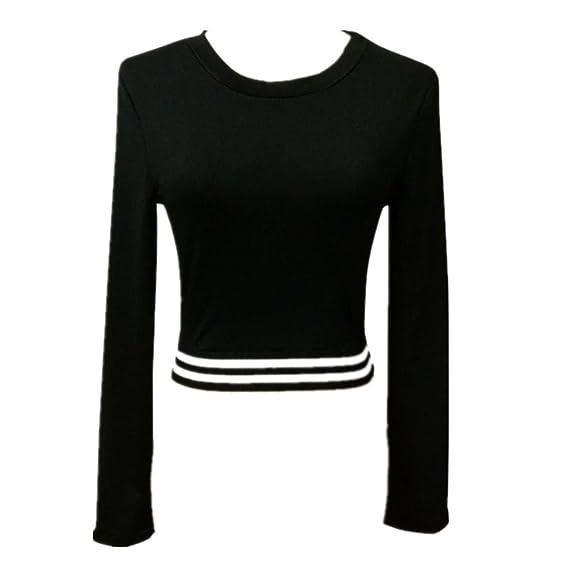 Deportiva Ropa Mujer, ❤️Ba Zha Hei Sudaderas Blusas de Mujer de Moda Deportiva de