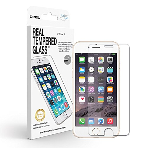 iPhone 6 / 6s 4.7in [CASE FRIENDLY HD CLEAR] GPEL Japanese Asahi...