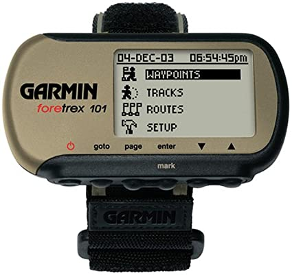 Garmin Foretrex 101 navegador De Mano 78 g - Navegador GPS (100 x 64 Pixeles