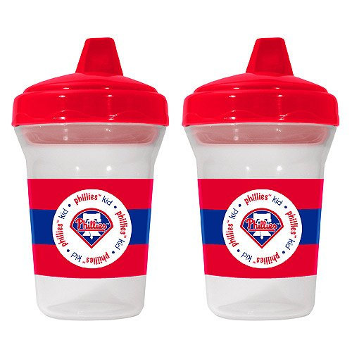 Sports MLB Spill-Proof Sippy Cups Safe BPA Free (Philadelphia Phillies)