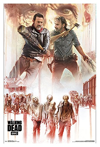 Trends International Walking Dead-Collage Wall Poster, 22.375
