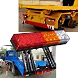 AMBOTHER-2x-20-LED-Car-Truck-LED-Trailer-Tail-Lights-Turn-Signal-Reverse-Brake-Light-Stop-Rear-Flash-Light-Lamp-DC12V-Red-Amber-White-Waterproof-IP65-Pack-of-2