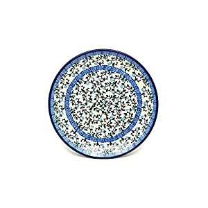 Polish Pottery Plate – Salad/Dessert (7 3/4″) – Terrace Vines