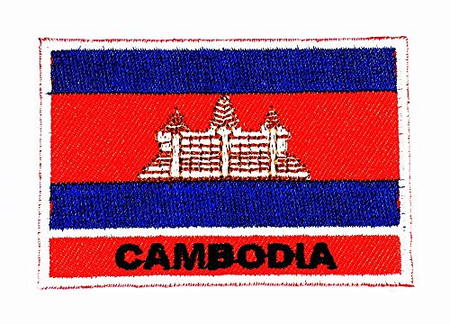 1.9 X 2.75 Inch Cambodia Country Flag