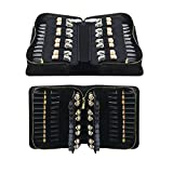 Best Cosmetics Organizers For Lipsticks - MLMSY 66 Slots Lipstick Bag,Portable Lipstick Organizer,Makeup Pen Review